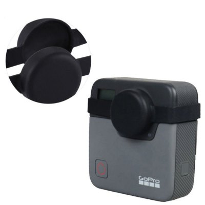 Soft Rubber Dual Lens Protective Cap Cover for GoPro Fusion