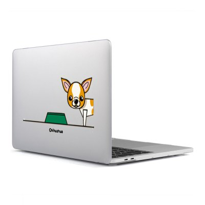 Computer Shell Laptop Case Keyboard Film for MacBook Air 11.6 inch 3D Dog Food 31