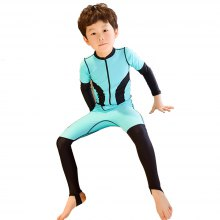 Children's Swimsuit Sunscreen Siamese 2018 Parent-Child Diving Suits