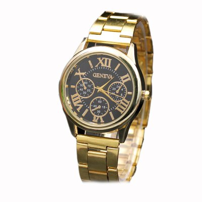 Modish Stainless Steel Band Female Watch