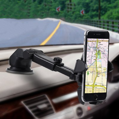 Universal Mobile Car Phone Holder 360 Degree Adjustable Window Windshield Dashboard Holder Stand For IPhone 7 Phone GPS