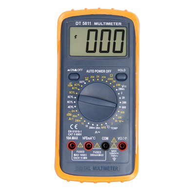 DT-5811 LCD Handheld Digital Multimeter Using for Home and Car