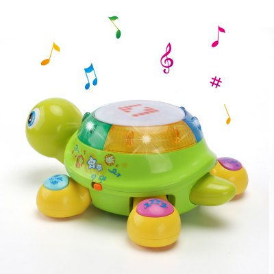 Bilingual Musical Turtle Baby Toy