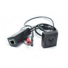 1080P Audio Mini POE IP Camera H.264 Series 40X40MM Small 2.0 Megapixel With External POE Securiy