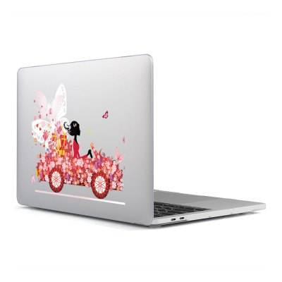 Computer Shell Laptop Case Keyboard Film Surface + Low for MacBook Air 11.6 inch 3D Pink Car 19