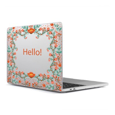 Computer Shell Laptop Case Keyboard Film Surface + Low for MacBook Air 11.6 inch 3D Flower 20