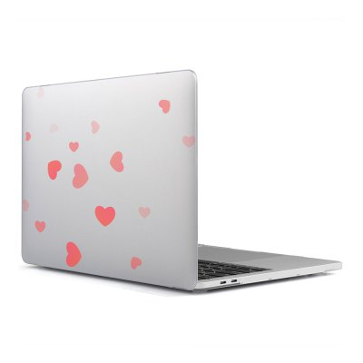 Computer Shell Laptop Case Keyboard Film Surface + Low for MacBook Air 11.6 inch 3D Love 21