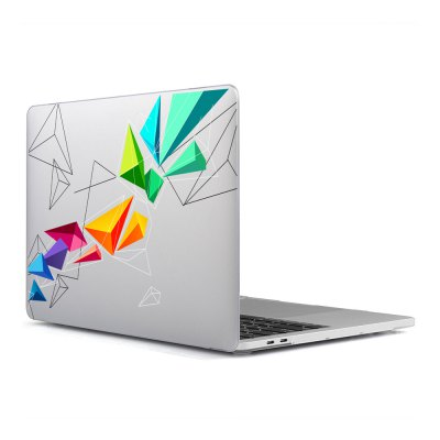 Computer Shell Laptop Case Keyboard Film Surface + Low for MacBook Air 11.6 inch 3D Tech Triangle 24