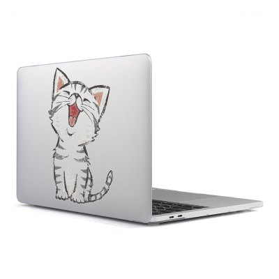 Computer Shell Laptop Case Keyboard Film Surface + Low for MacBook Air 11.6 inch 3D Happy Cat 25