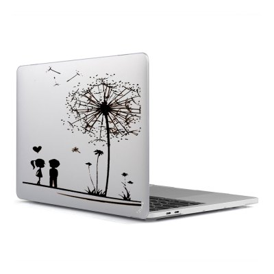 Computer Shell Laptop Case Keyboard Film Surface + Low for MacBook Air 11.6 inch 3D Couple Dandelions 33