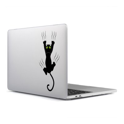 Computer Shell Laptop Case Keyboard Film Surface + Low for MacBook Air 13.3 inch 3D Cat Series 2