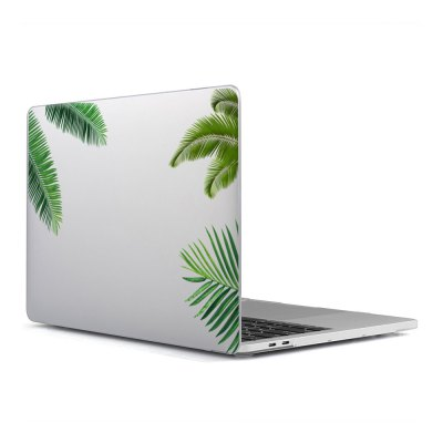 Computer Shell Laptop Case Keyboard Film Surface + Low for MacBook Air 13.3 inch 3D Leaf 4