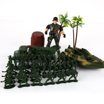 Children Island Military Model Toy