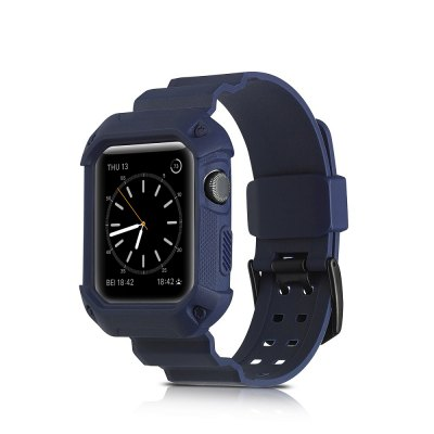 Smart Watch Sports Soft Silicone Strap Is Suitable for Apple Watch Series 3/2/1