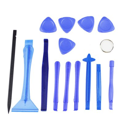 AETOOL 15 In 1 Opening Repair Tools Phone Disassemble Set Kit for IPhone/IPad/HTC Cell Phone Tablet PC