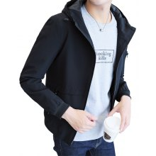 Men's Coat Spring 2018 New Handsome Trend of Self-cultivation Jacket