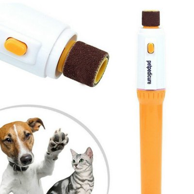 Pet Dog Cat Nail Grooming Grinder Trimmer