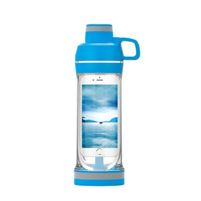 5.5 Inch IPhone Sport Water Bottle and Waterproof Mobile Phone for Gym Travel Running Outdoor Cycling Hiking Or Camping