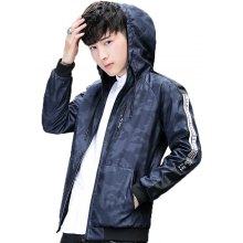 2018 Spring Fashion Men Hooded Jackets