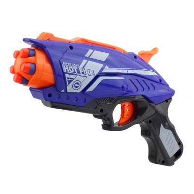 Manual Soft EVA Bullet Gun 7063 Launches Bubble Sniper