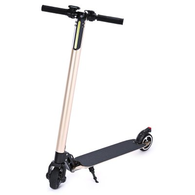 5 inch solid tire folding electric scooter 10.4AH battery capacity ultra long battery aluminum alloy material.