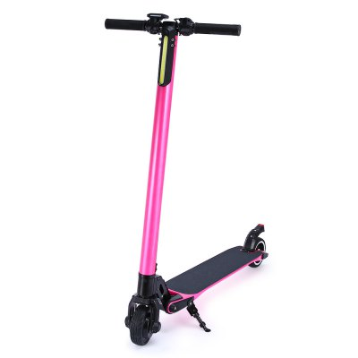 Carbon Fiber Body 5 Inch 7.5KG 10.4AH Lithium Battery Solid Tyre Foldable Electric Scooter