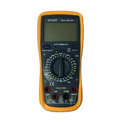 DT-151C LCD Handheld Digital Multimeter Using for Home and Car