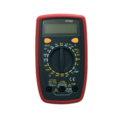 DT33C LCD Handheld Digital Multimeter Using for Home and Car