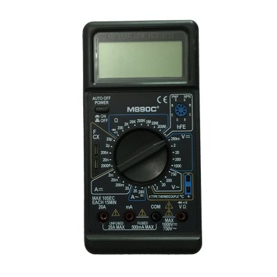M890C+ LCD Handheld Digital Multimeter Using for Home and Car