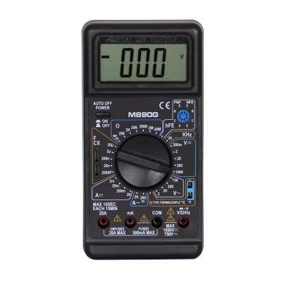M890G LCD Handheld Digital Multimeter Using for Home and Car