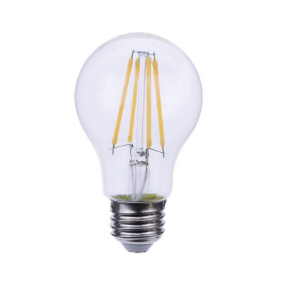 GMY Lighting A19 Led Light Bulb Filament Dimmable 8W (60W Equivalent) E26 2700K Warm White