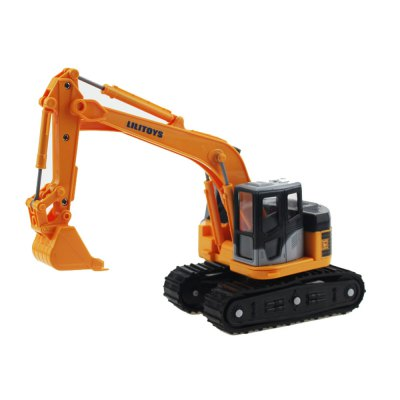 Construction Vehicles Series Small Folder Forklifts Simulation Inertial Toy