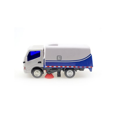 Inertia Truck Cleaning Car Garbage Road Sweeper Boy Child Toy Model