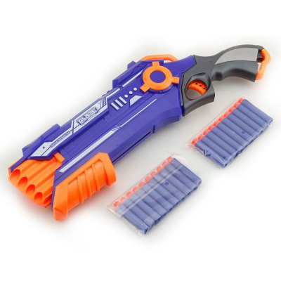 Manual Soft Bullet Gun Bored Blessed Toy Can Launch