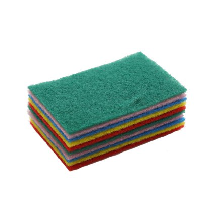 Household Cleaning Color Scouring Pad 10PCS