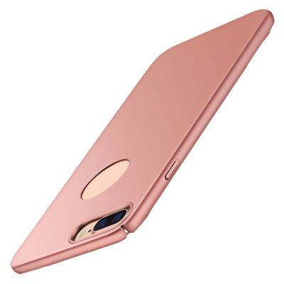 DOYO Cover Case for iPhone 7plus Micro-frosted Skin-friendly Feel Anti-fingerprint Drop Phone Shell