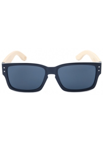 Bamboo Glasses Can be Customized Men and Women Color Film Square Sunglasses