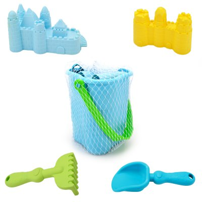 Colorful Beach Sand Toy Set for Kids