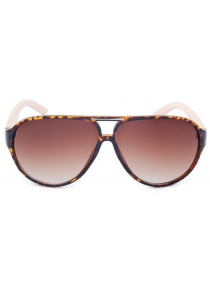 New products gadgets Handmade Bamboo Sunglasses Oval Coated 1027