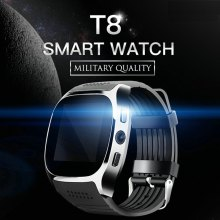 T8 Bluetooth Smart Watch Smart Watch With Camera Whatsapp Support SIM TF Card Call Smartwatch For Android