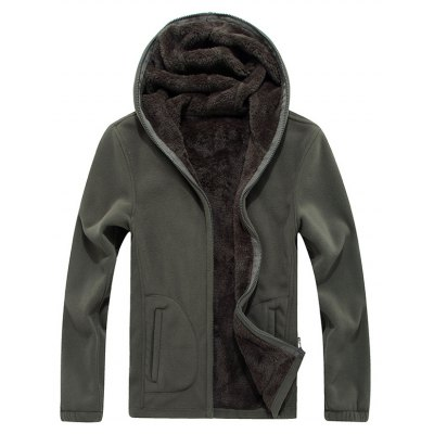 New products gadgets Autumn and Winter Slim Hooded Cardigan Cashmere Coat
