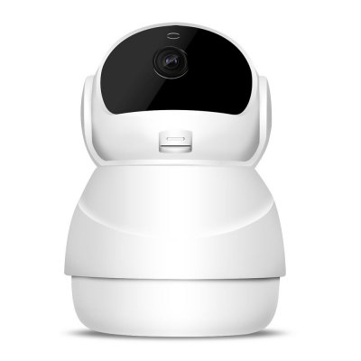 Wireless IP Camera with Two-way Audio Night Vision 3D Navigation Pet Baby Monitor Home Security Camera