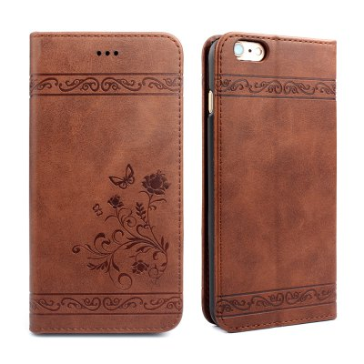 Flip Case for iPhone 6 Plus/6S Plus Wallet Leather Mobile Phone Holster Cover