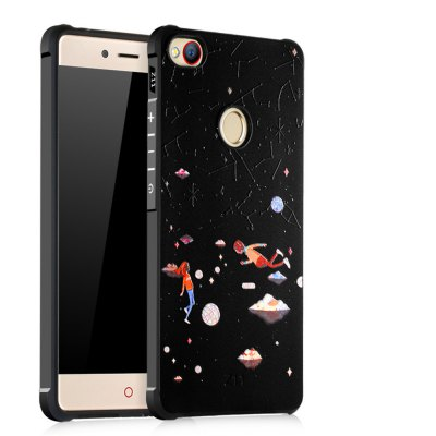Shockproof Soft Silicone Case for Nubia Z11 Cover Case 3D Painting Fashion Full Protective Phone Case