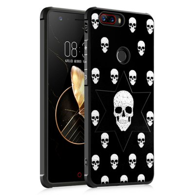 Shockproof Soft Silicone Case for Nubia Z17 Cover Case 3D Painting Fashion Full Protective Phone Case