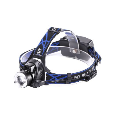 U'King ZQ-X864 XML-L2 1200LM 3 Mode Zoomable Multifunciton LED Headlamp with Smart Infrared Sensor Switch