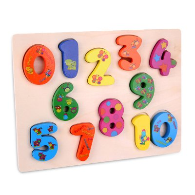 Number Woodiness Jigsaw Puzzle Toy