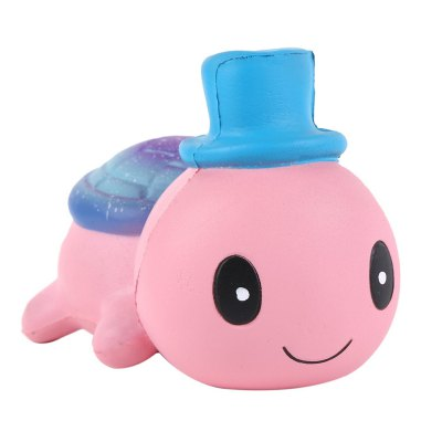 Jumbo Squishy Cute Hat Small Turtle Kawaii Cream Scented Toy