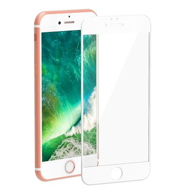 3D Round Curved Edge Tempered Glass for iPhone 8 Plus Full Cover Protective Premium Screen Protector Film