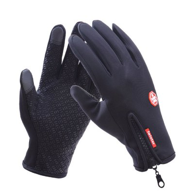 Classic Winter Leather Gloves Touch Screen Male Army Guantes Tacticos Accessories Winter Winds